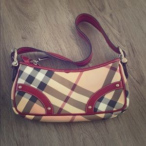Burberry mini satchel (pre owned)